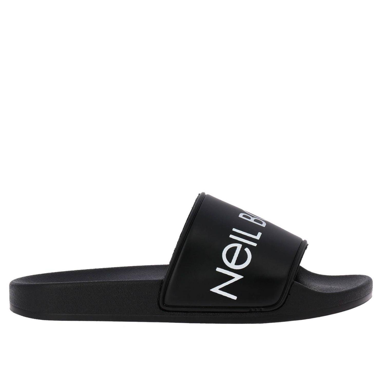 Shoes kids Neil Barrett black 1