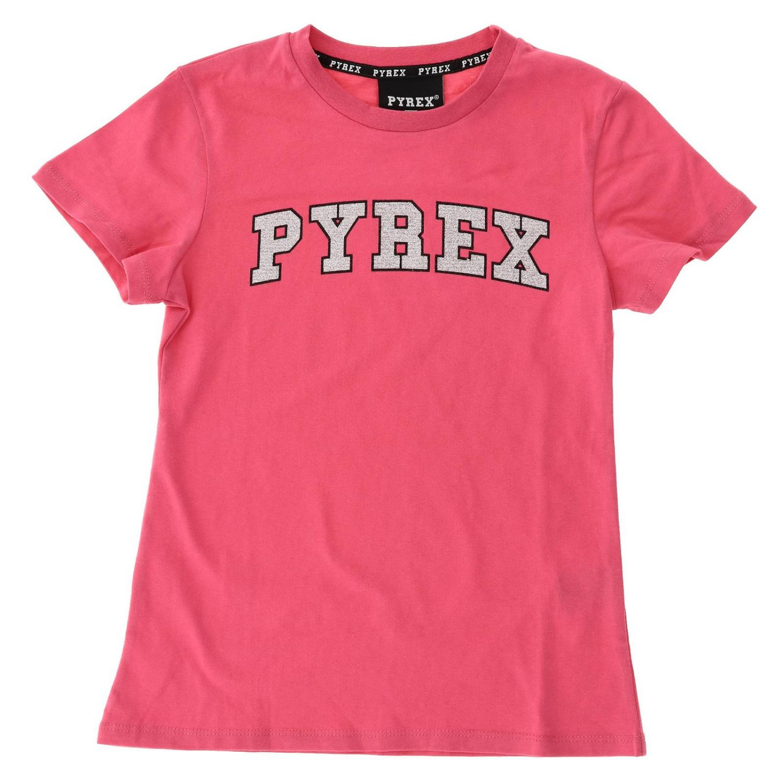 Camisetas niños Pyrex fucsia 1