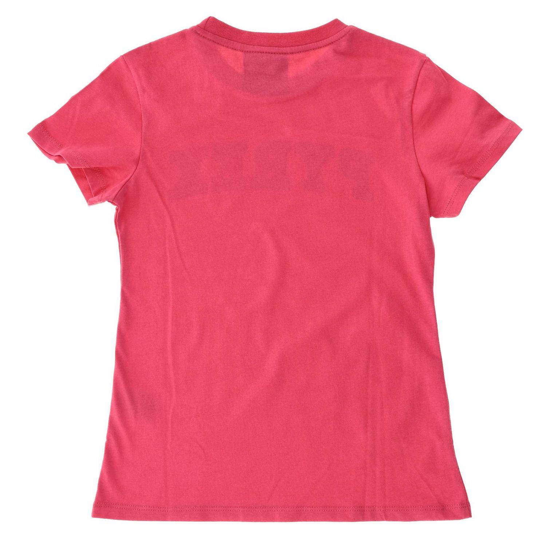 Camisetas niños Pyrex fucsia 2