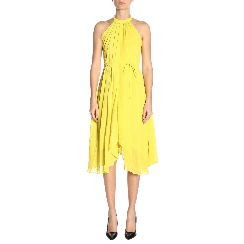 Dress women Saloni yellow 1