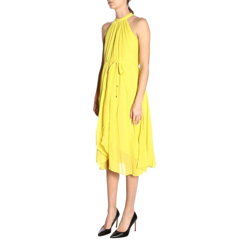 Dress women Saloni yellow 2