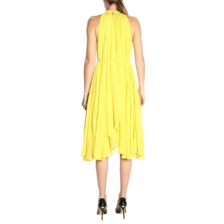 Dress women Saloni yellow 3