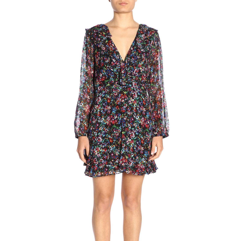 Dress women Saloni multicolor 1