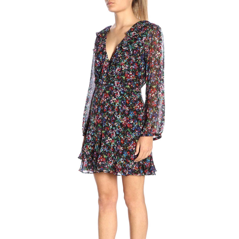 Dress women Saloni multicolor 2