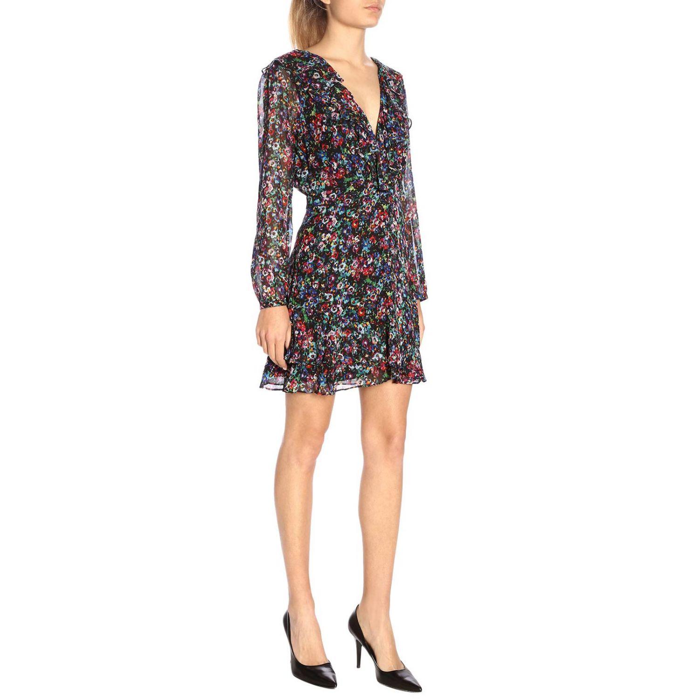 Dress women Saloni multicolor 4