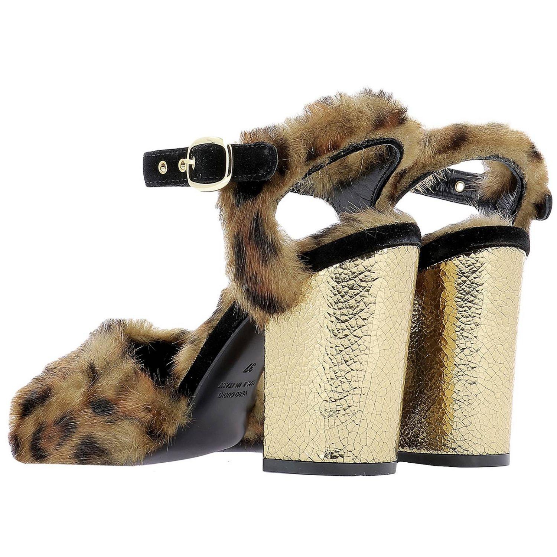 Scarpe donna Elena Iachi oro 3