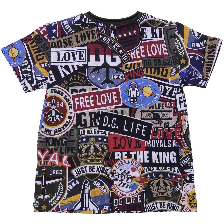 T-shirt kinder Dolce & Gabbana blau 2