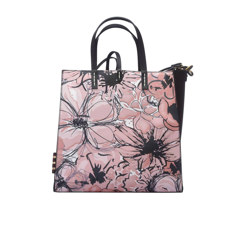 Tote bags women Manila Grace pink 1