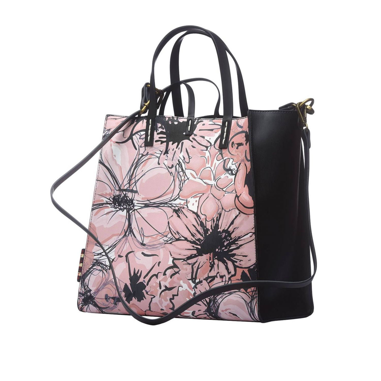 Tote bags women Manila Grace pink 2
