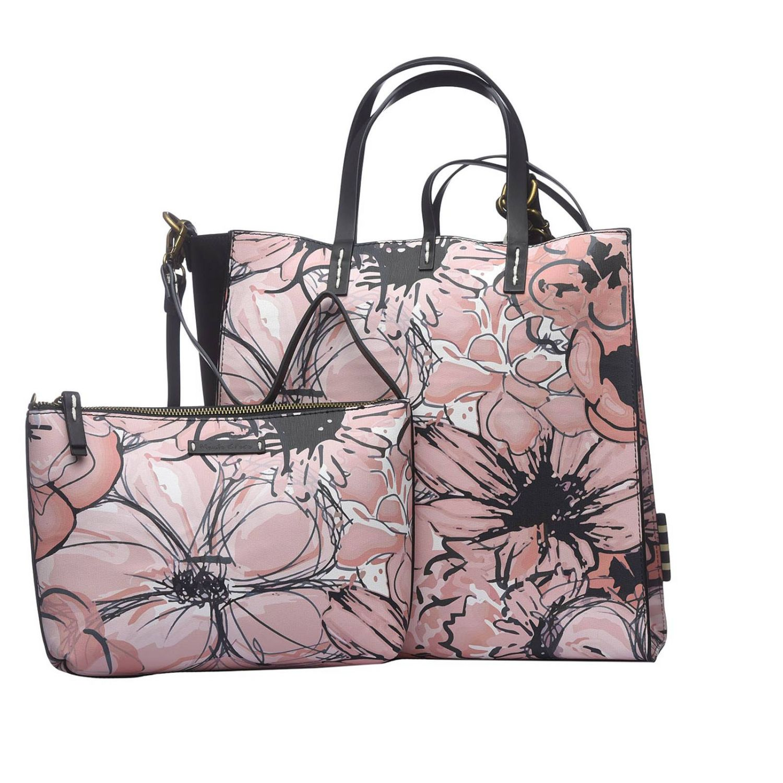 Tote bags women Manila Grace pink 3