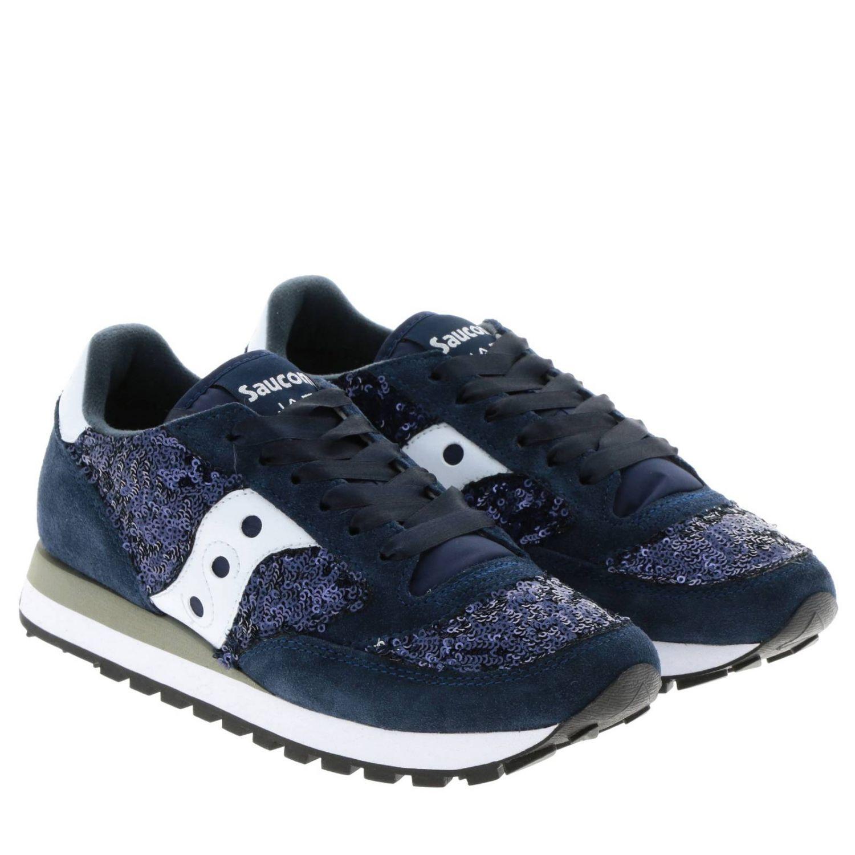 Sneakers women Saucony blue 2