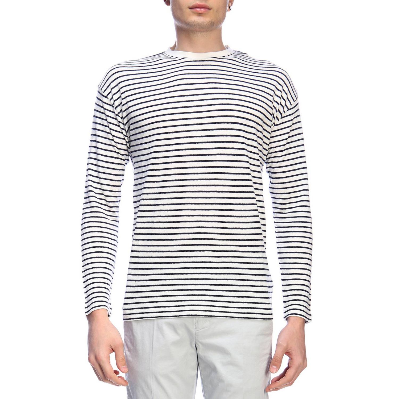 Sweatshirt homme Dondup blanc 1