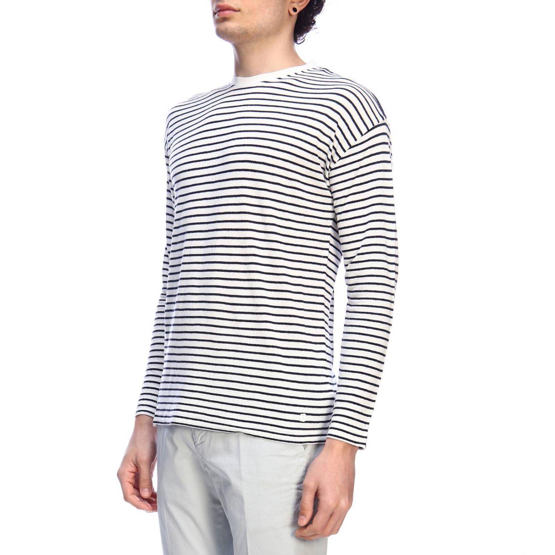 Sweatshirt homme Dondup blanc 2