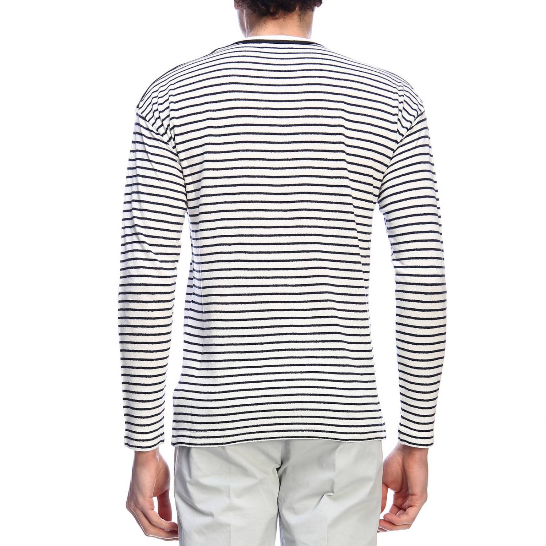 Sweatshirt homme Dondup blanc 3