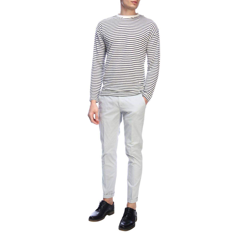 Sweatshirt homme Dondup blanc 4