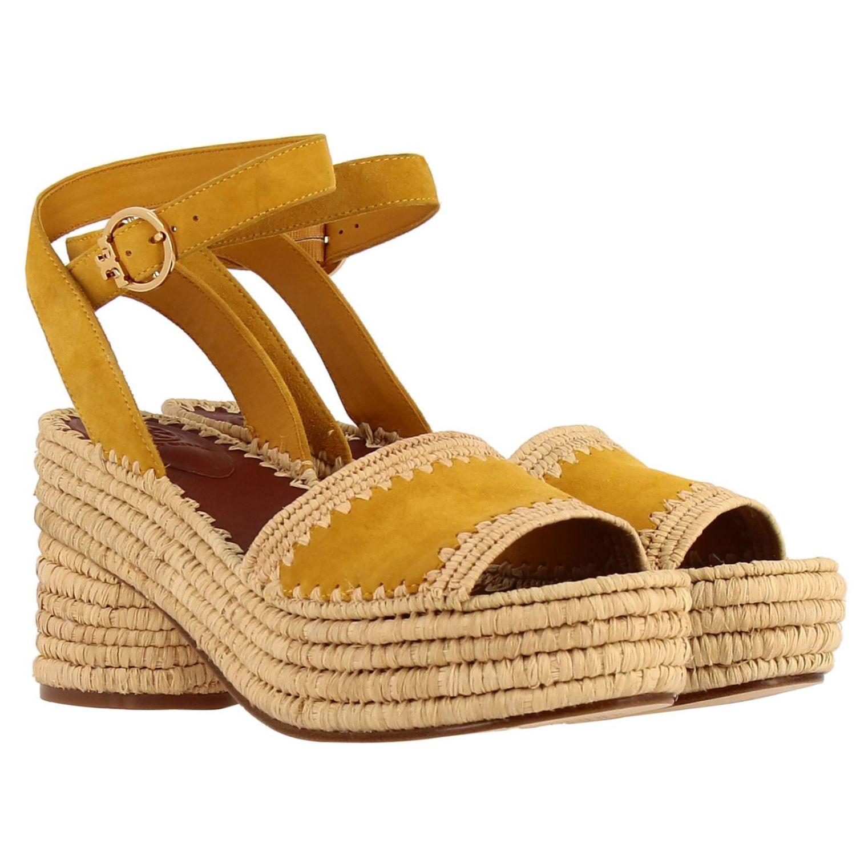 Shoes women Tory Burch yellow 2
