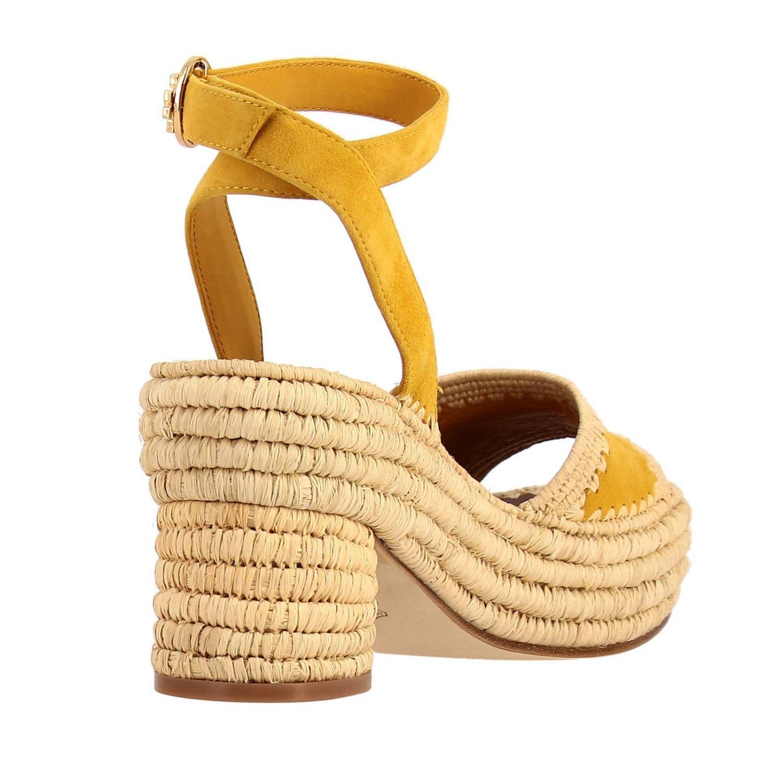 Shoes women Tory Burch yellow 4