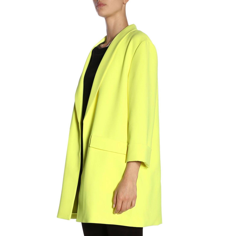 Coat women Alice+olivia yellow 2