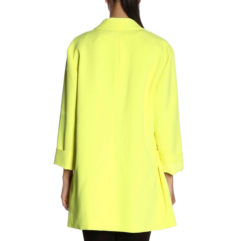 Coat women Alice+olivia yellow 3