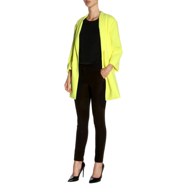 Coat women Alice+olivia yellow 4