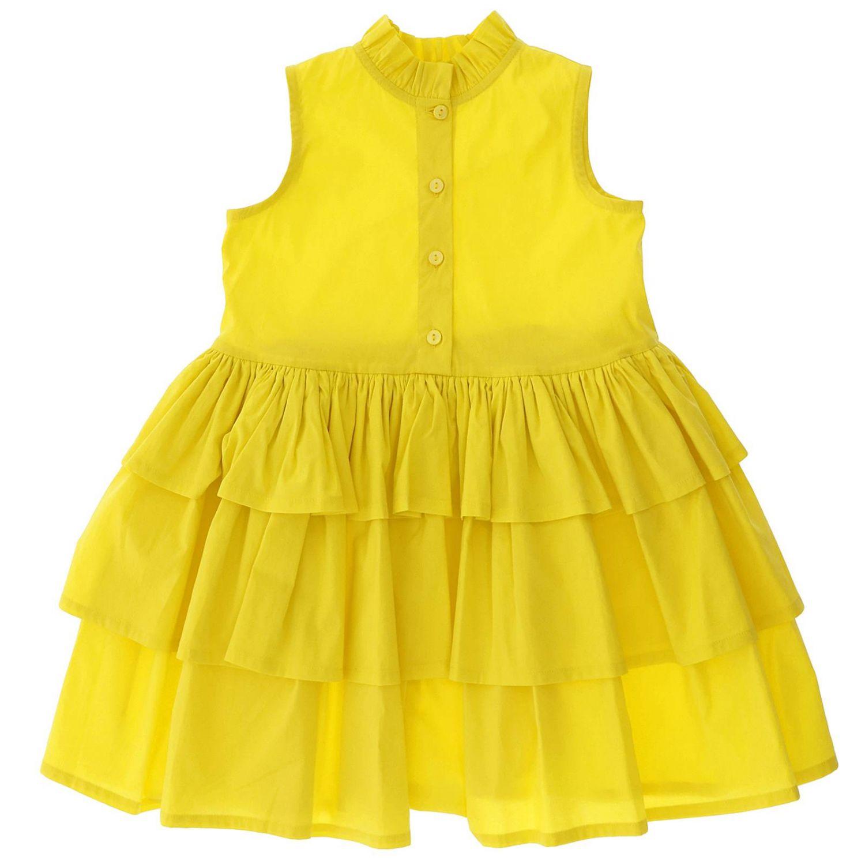 Dress kids Piccola Ludo yellow 1