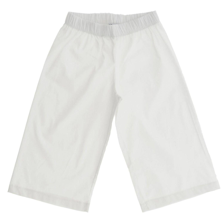 Trousers kids Piccola Ludo white 1