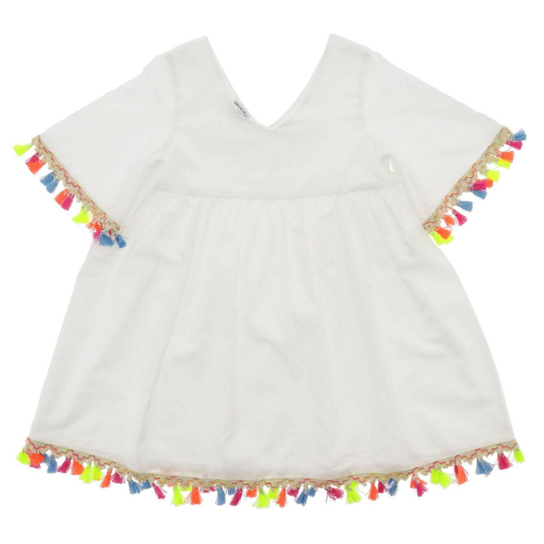 Camicia bambino Piccola Ludo bianco 1