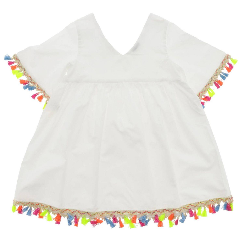 Camicia bambino Piccola Ludo bianco 2