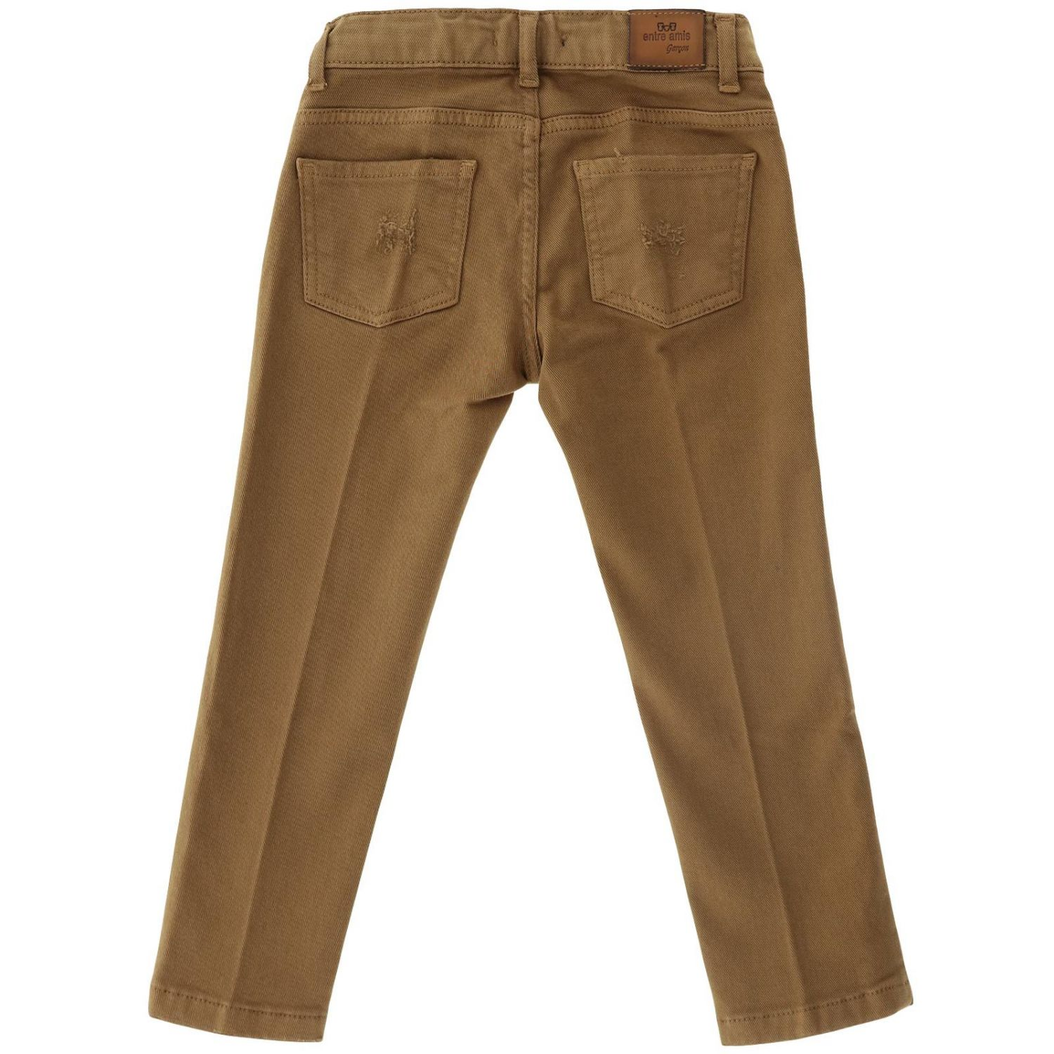 Trousers kids Entre Amis tobacco 2