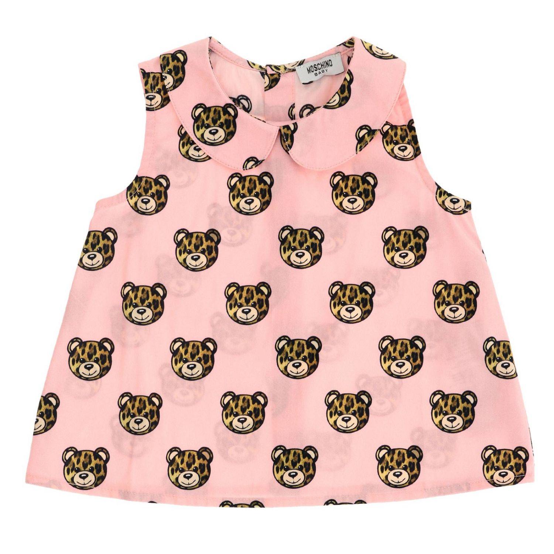 Jumper kids Moschino Baby pink 1