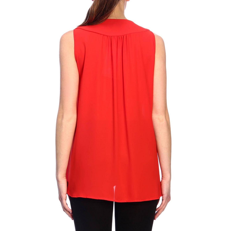 Top femme Kaos rouge 3