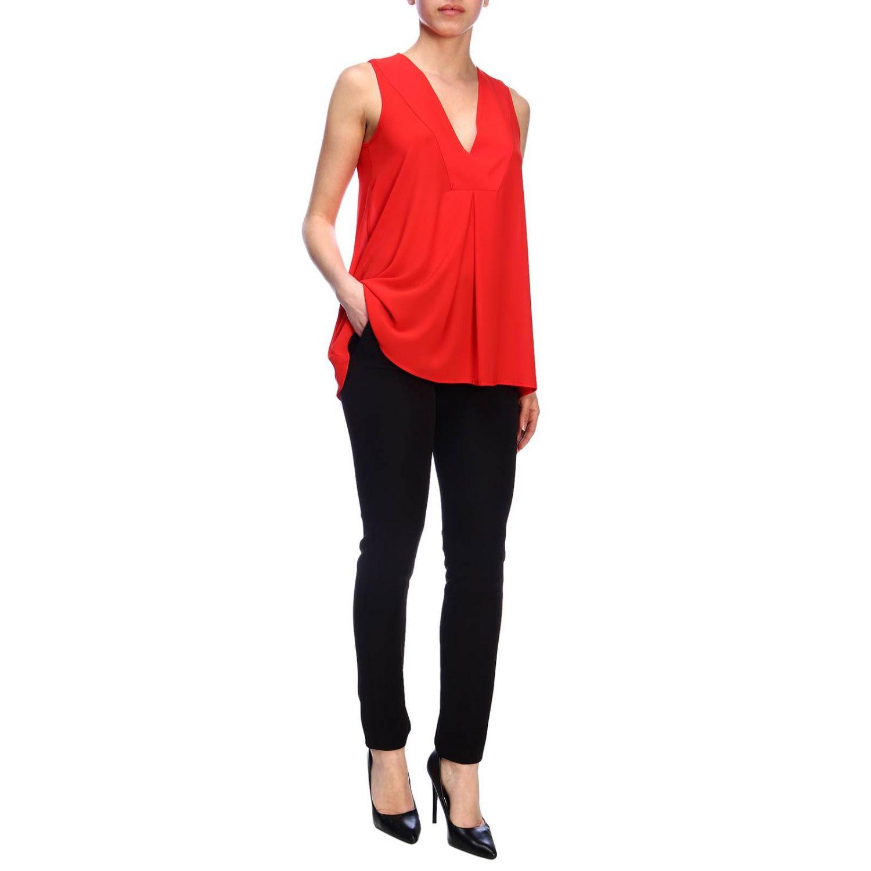 Top femme Kaos rouge 4