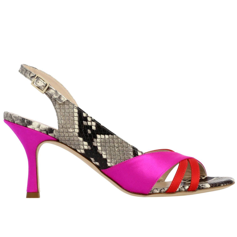 Босоножки на каблуке Женское Gia Couture многоцветный 1