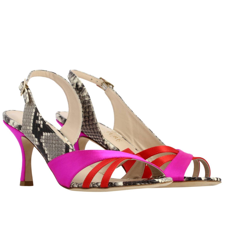Босоножки на каблуке Женское Gia Couture многоцветный 2
