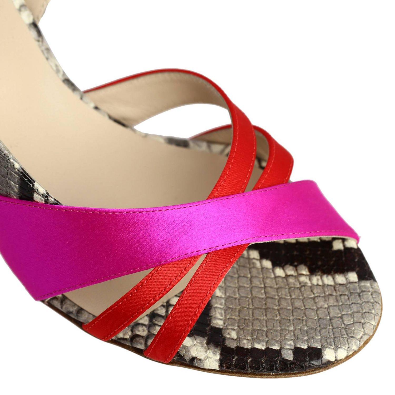 Босоножки на каблуке Женское Gia Couture многоцветный 3