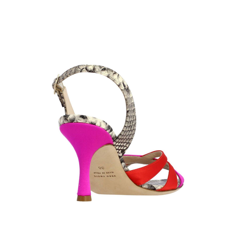 Босоножки на каблуке Женское Gia Couture многоцветный 4
