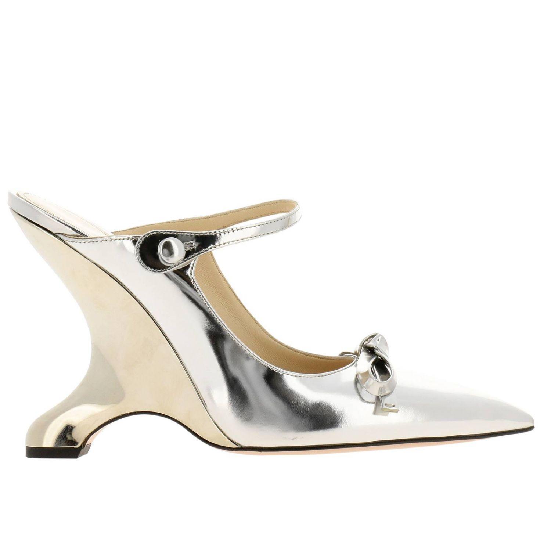 Shoes women Prada silver 1