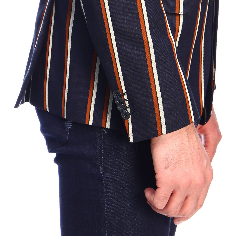 Jacke herren Brian Dales blau 4