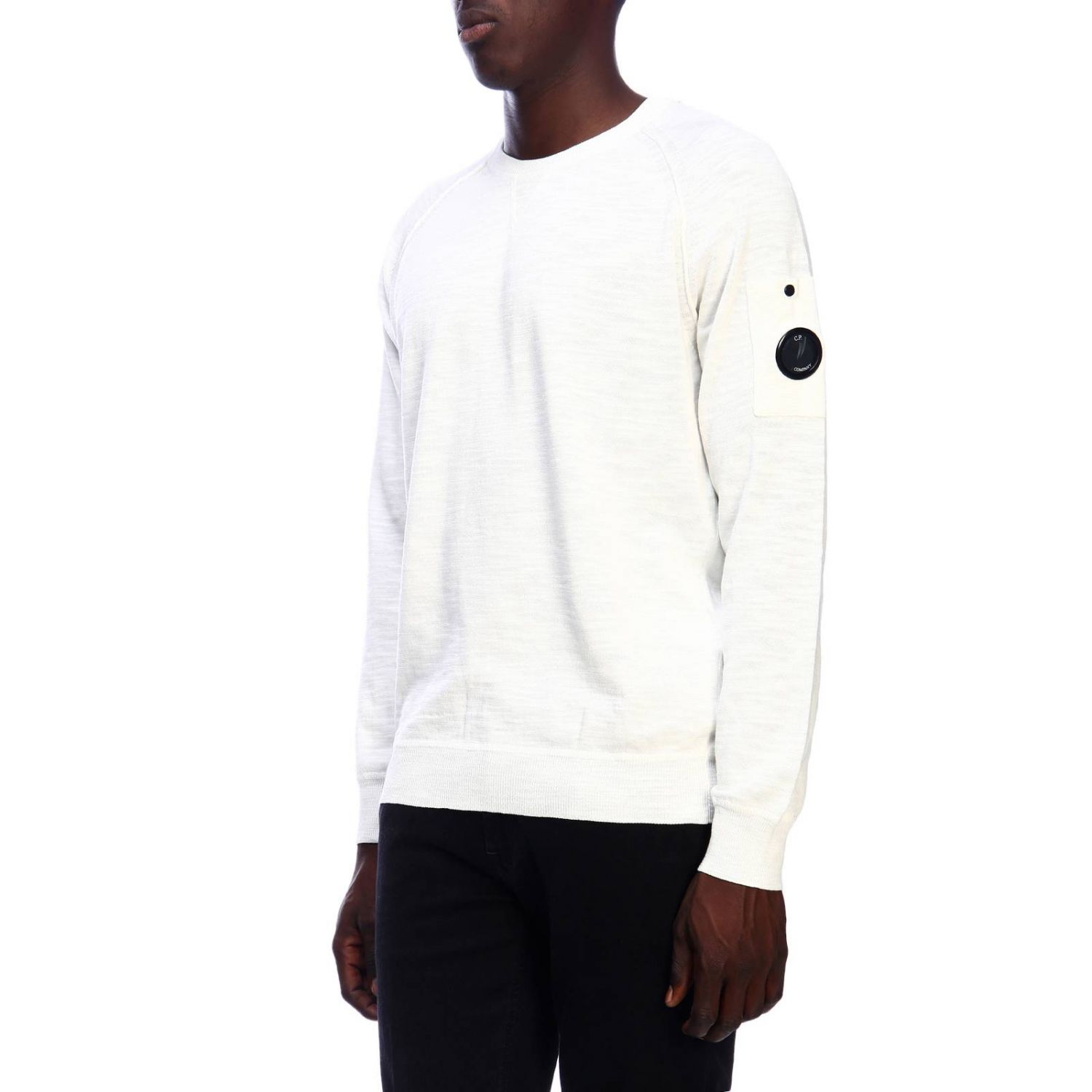 Sweater men C.p. Company white 2