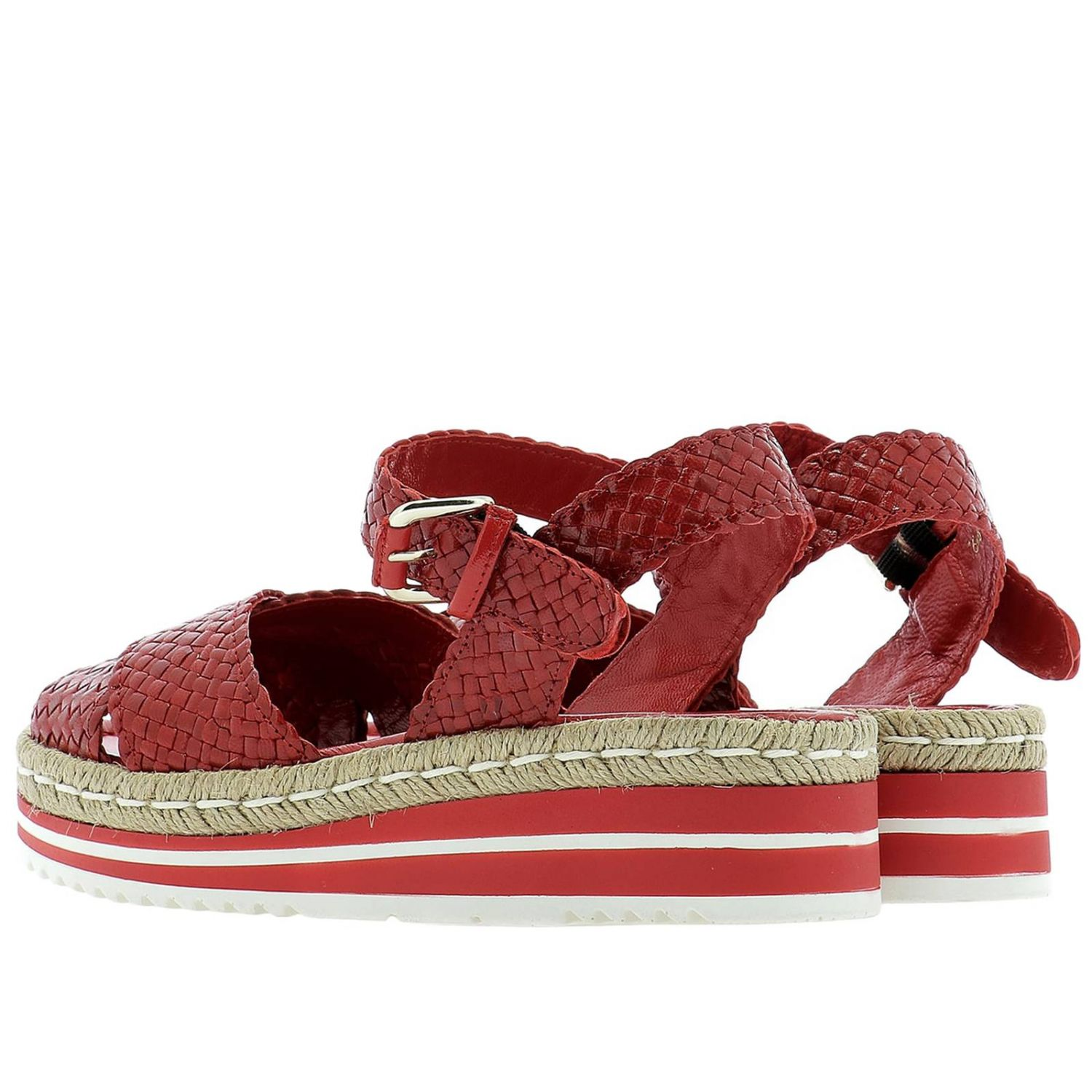 Shoes women Pons Quintana red 3