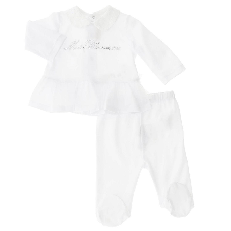 Completo Miss Blumarine: Completo bambino Miss Blumarine bianco 1
