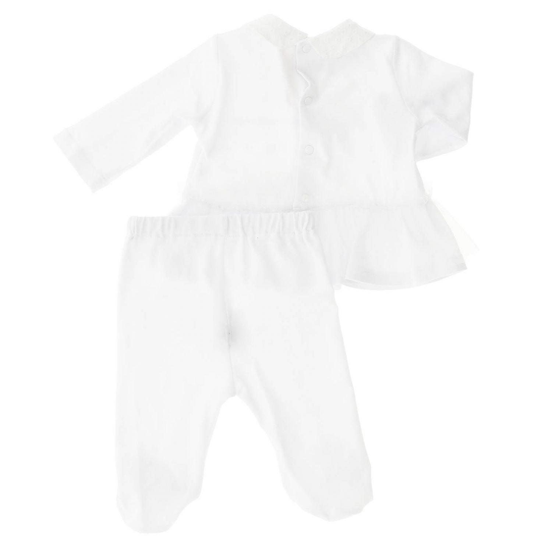 Completo Miss Blumarine: Completo bambino Miss Blumarine bianco 2