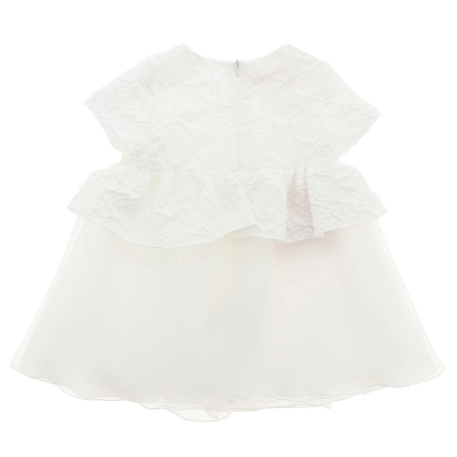 Dress kids Miss Blumarine yellow cream 2