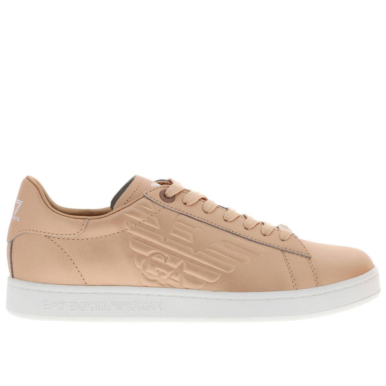 Sneakers uomo Ea7 oro 1