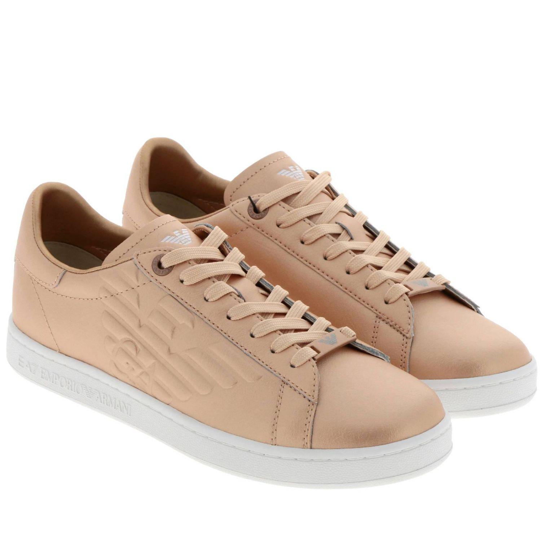Sneakers uomo Ea7 oro 2