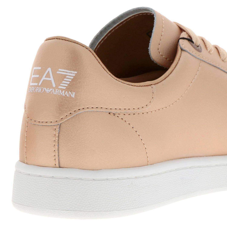 Sneakers uomo Ea7 oro 4