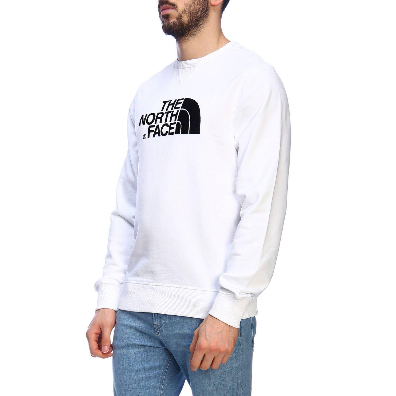 Sweatshirt men The North Face white 2