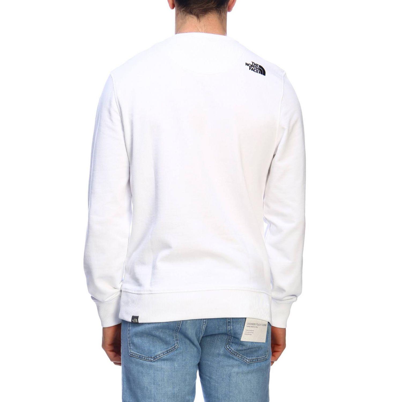 Sweatshirt men The North Face white 3