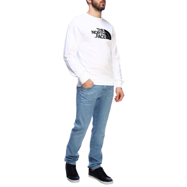 Sweatshirt men The North Face white 4