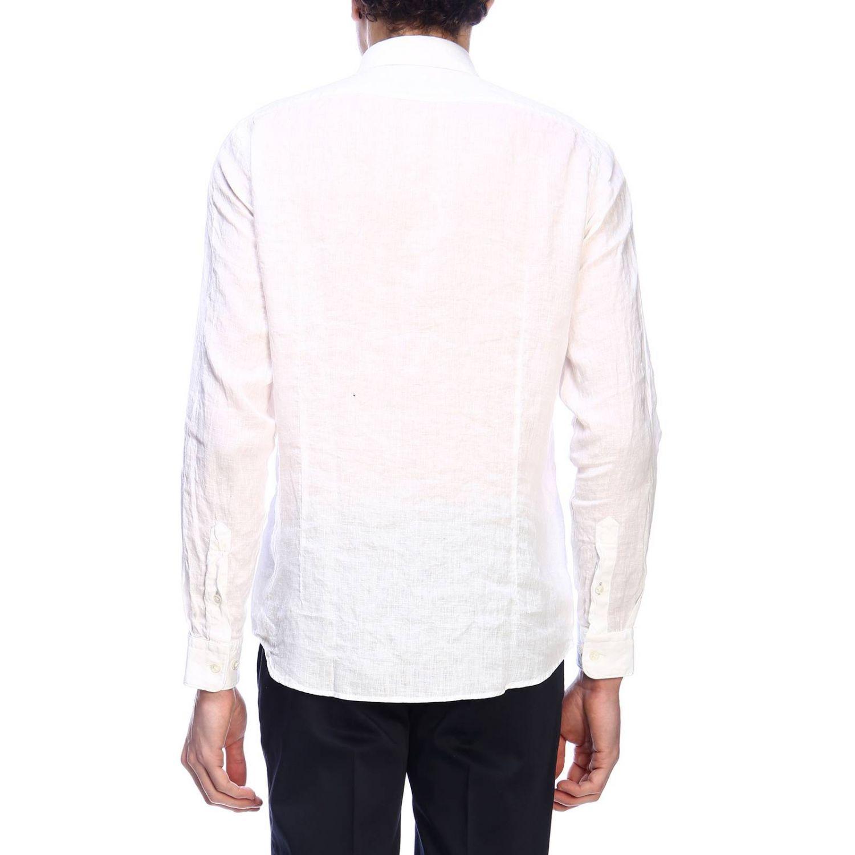 Shirt men Hugo Boss white 3